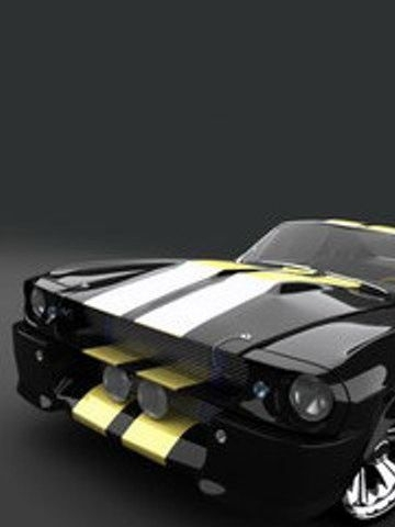 Black and YellowShelby GT500 Wallpaper