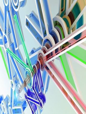 3d Contraption Wallpaper