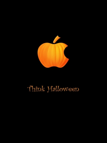 Apple Halloween Wallpaper