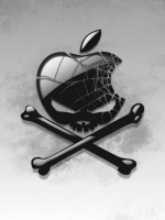 Apple Skull And Crossbones