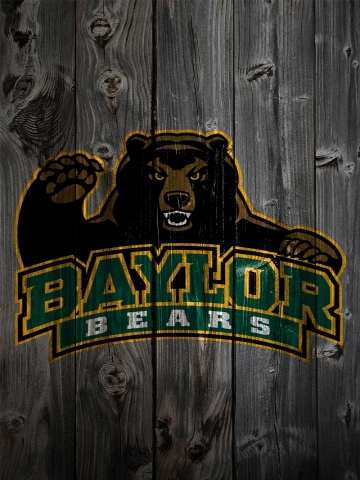 Baylor Bears Wood Wallpaper