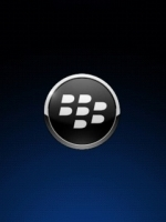 Black Blackberry Logo
