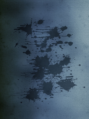 Black Paint Splatter Wallpaper