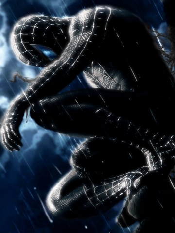 Black Spiderman Wallpaper