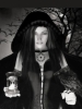 Black and White Wiccan Female