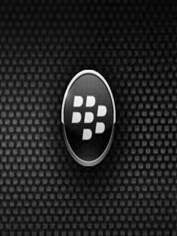 Blackberry Logo Carbon Wallpaper