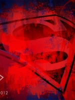 Blood Smeared Superman