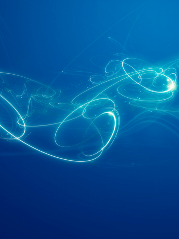 Blue Swirls Wallpaper