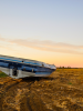 Boat in Field