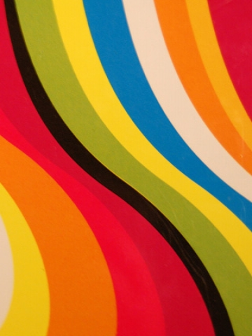 Bright Colored Lines Wallpaper