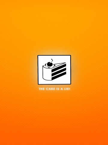 Cake Lie Wallpaper