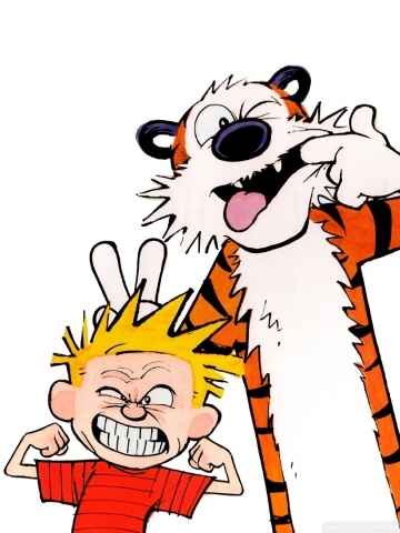 Calvin Hobbes Wallpaper