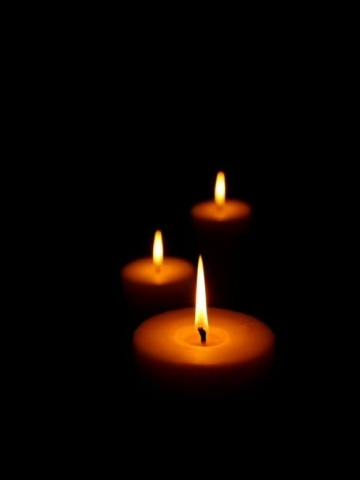 candle in the dark - photo #29