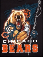 Chicago Bears Angry Bear