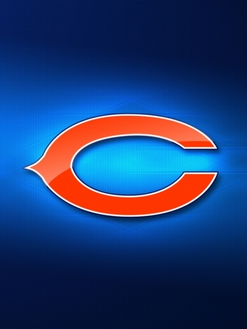 Chicago BearsBlueLogo Wallpaper