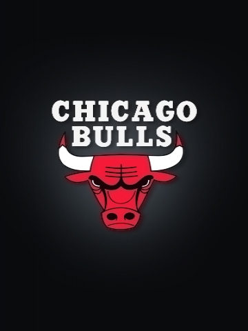 Chicago Bulls Black Wallpaper