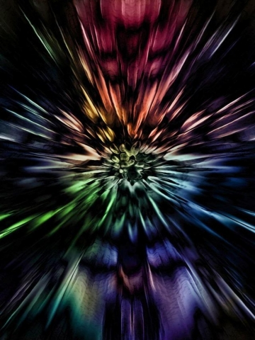 Color Burst Wallpaper