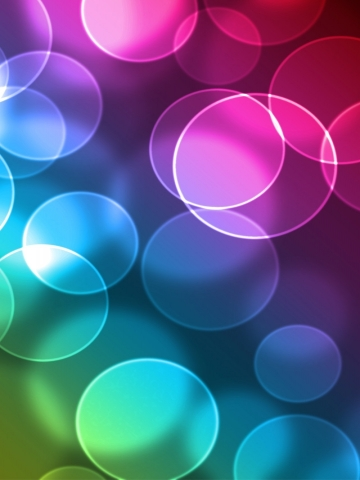 Colorful Bubles Wallpaper