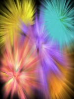 Colorful Bursts