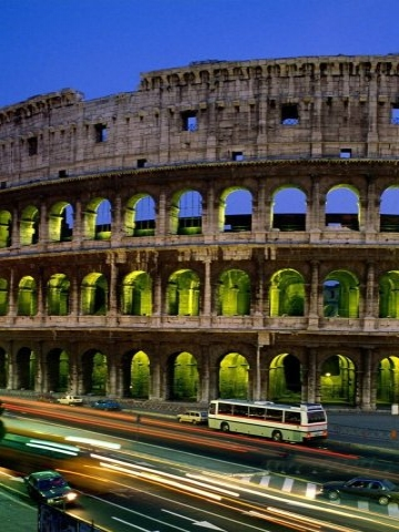 Colosseum Rome Italy Wallpaper