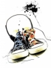 Converse All Star Shoes Headphones