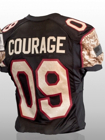Courage Football Jersey Wallpaper