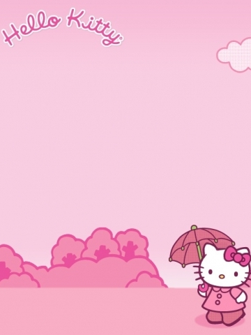 Cute Pink Hello Kitty Wallpaper