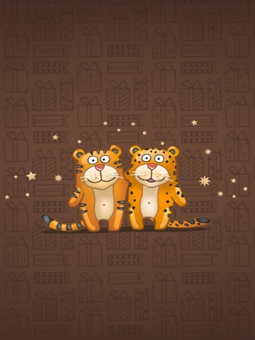 Cute Tigers Wallpaper