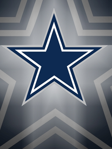 Dallas Cowboys Blue Logo Wallpaper