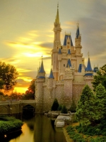 Disney World Princess Castle