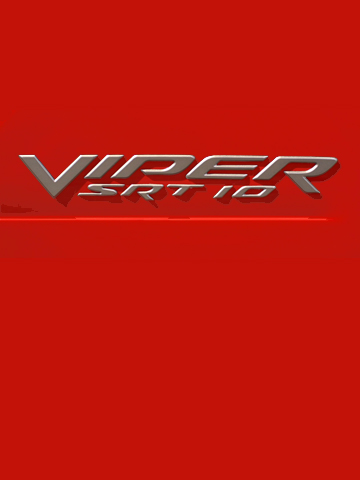 Dodge Viper SRT 10 Logo Wallpaper