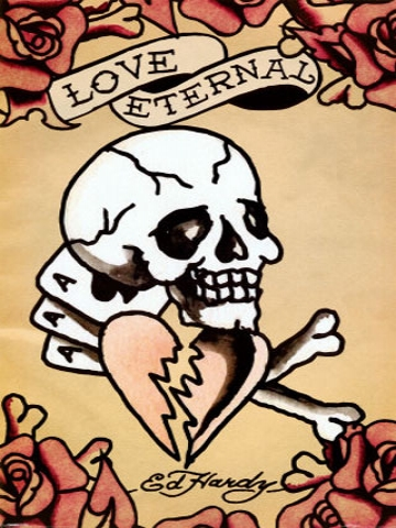 Ed Hardy Broken Heart Wallpaper