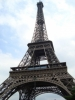 Eiffel Tower Paris Closeup