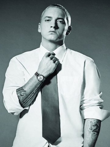 Eminem Black And White Wallpaper