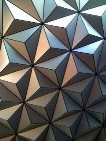 Epcot Diamond Pattern Wallpaper