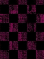 Faded Pink Black Checkered