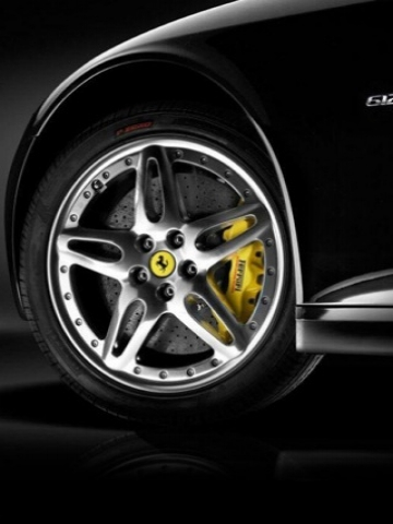 Ferrari Front Wheel Wallpaper