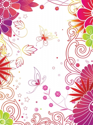 Flower Doodles Wallpaper