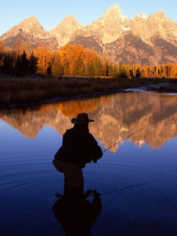 Fly Fisher Wallpaper