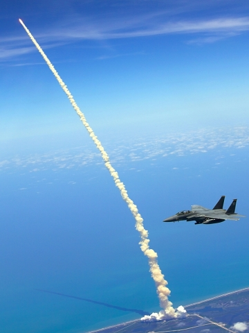 Flying F 15 Wallpaper