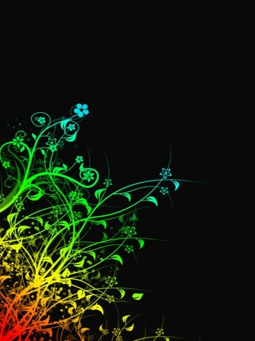 Girly Flowers Wallpaper