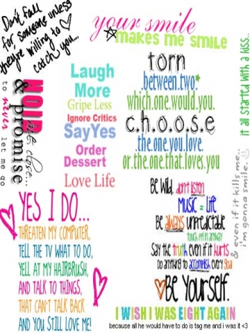 Girly Quotes Wallpapers. QuotesGram Girly Quotes
