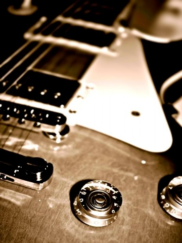Guitar Strings_sample Wallpaper