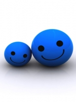 Happy Blue Balls