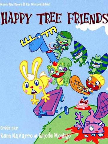 Happy Tree Friends Cover Wallpaper Iphone Blackberry