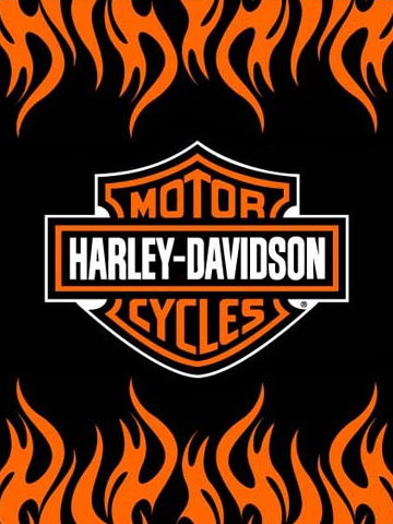 Harley Davidson Flames Wallpaper