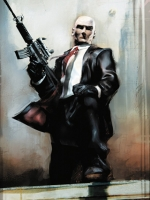Hitman Drawing
