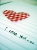 I love you Notepad