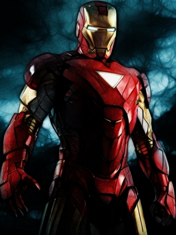 Iron man animated wallpaper iphone blackberry - Iron man wallpaper anime ...