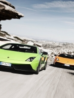 Lamborghinis Racing